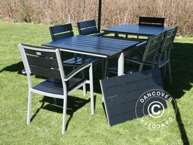 Set de mobiliario de jardín de CosyLifeStyle – elegante, moderno y sin necesidad de mantenimiento