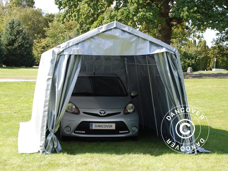 Garajes portátiles: unasolución flexible