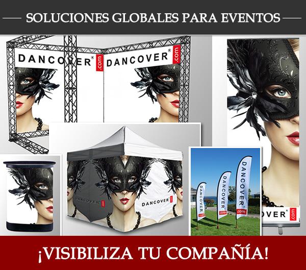 ¡Visibiliza tu compañía! ¡Soluciones globales para eventos!