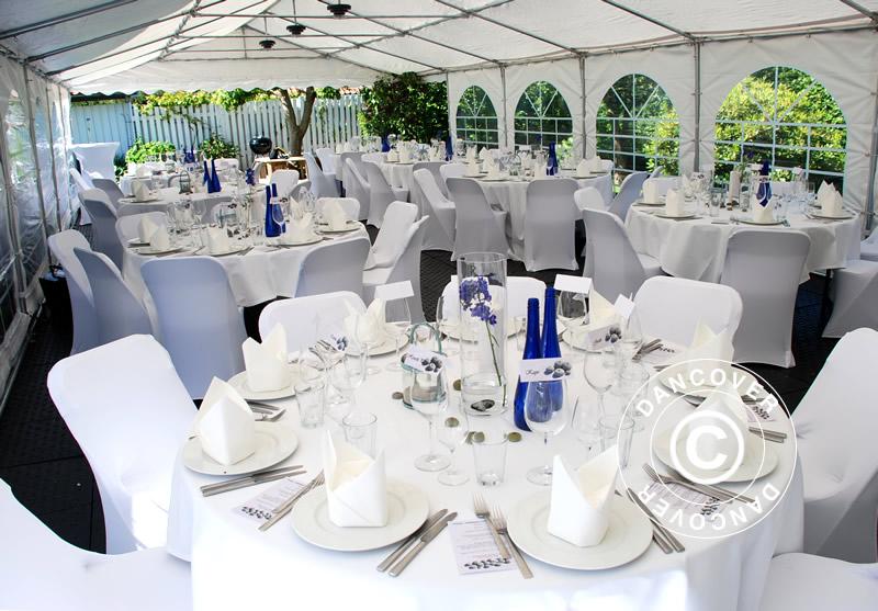 Mesas y sillas para fiestas, adecuadas para todo tipo de eventos