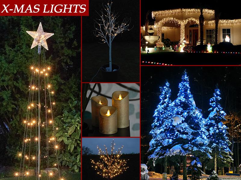 Luces de Navidad para el perfecto espíritu navideño