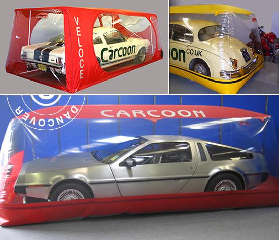 Carcoon and Bikebubble – lo mejor de la línea de almacenamiento