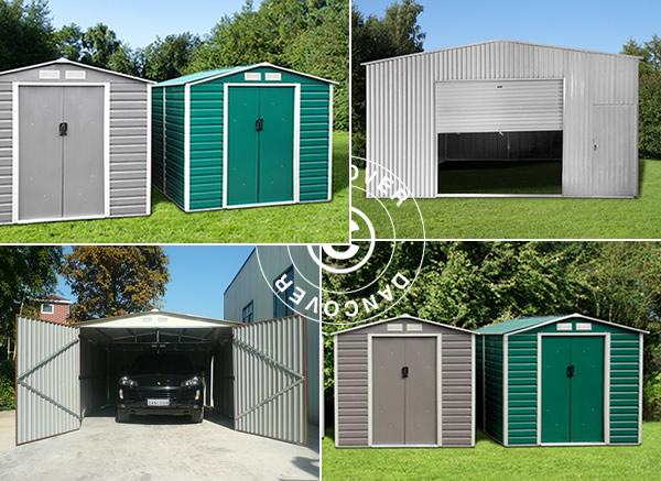 Garajes metálicos – la solución segura y duradera