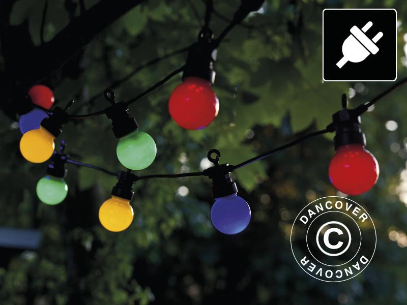 Las luces LED de fiesta crean la sensación perfecta
