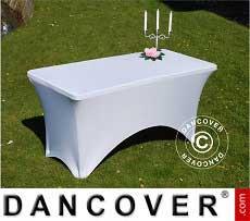 cubierta flexible para mesa xxcm blanco